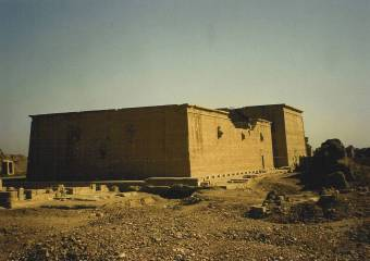 Dendera View From Back