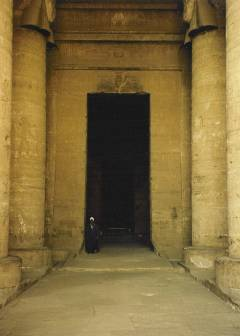 Dendera Interior Doorway
